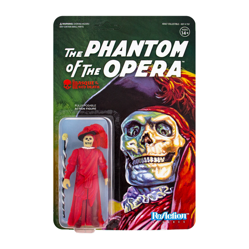 UNIVERSAL MONSTERS REACTION FIGURE - THE MASQUE OF THE RED DEATH