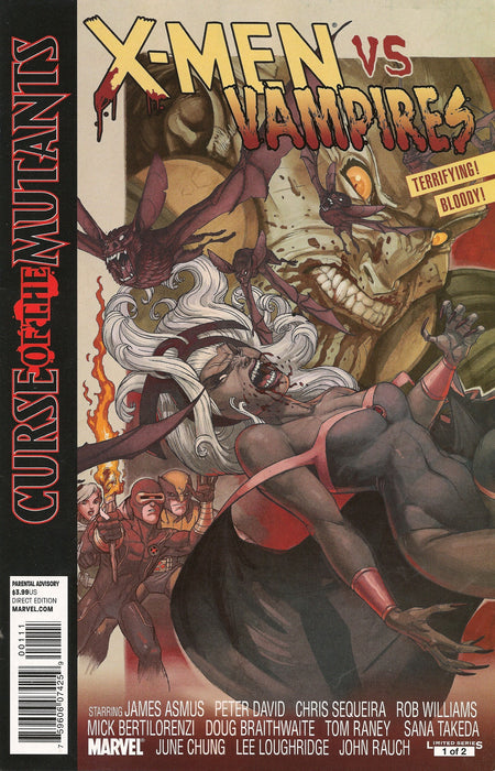 X-MEN CURSE OF MUTANTS TP MUTANTS VS VAMPIRES