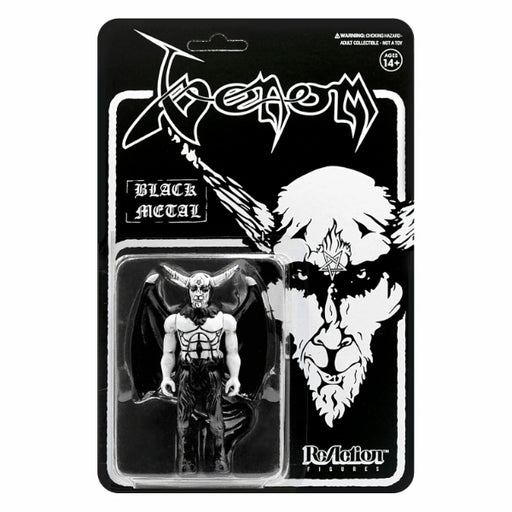 Venom ReAction Figure - Black Metal