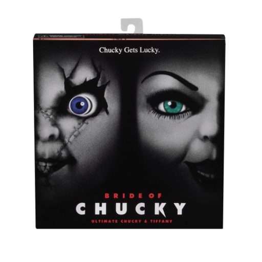 Bride of Chucky  7″ Scale Action Figures – Ultimate Chucky & Tiffany 2-Pack