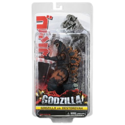 Godzilla 12″ Head To Tail Action Figure – 1995 Burning Godzilla