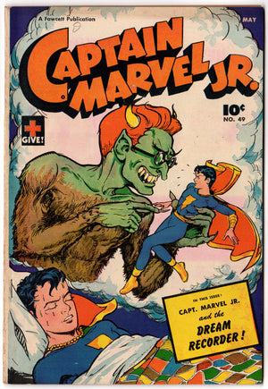 CAPTAIN MARVEL JR #49 FN (6.0)