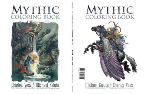 MYTHIC COLORING BOOK KALUTA & VESS