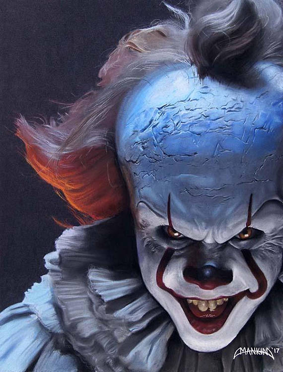 PENNYWISE IT (2017) ART PRINT