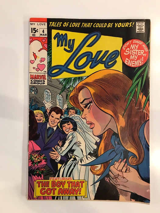 MY LOVE #4 INTERIOR PAGE BY DON HECK