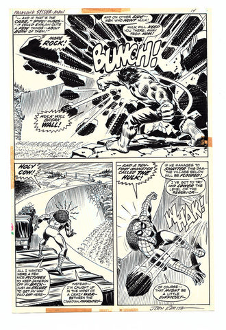 Amazing Spider-Man #119 Original Art (Romita)