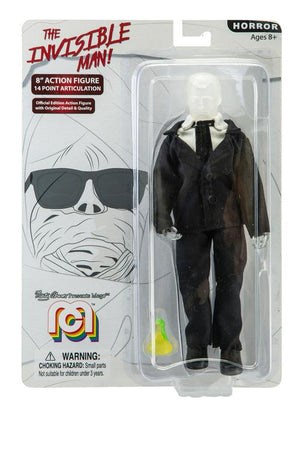 "The Invisible Man Mego 8"" Action Figure"