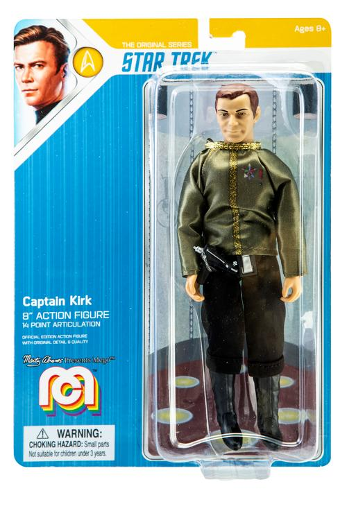 "Mego Star Trek Action Figure 8"" Captain Kirk"
