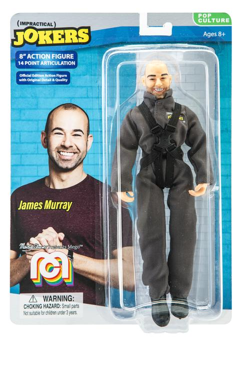 "Impractical Jokers James Murray 8"" Action Figure"