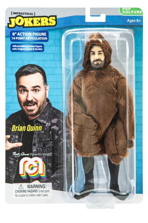 "Impractical Jokers Brian Quinn 8"" Action Figure"