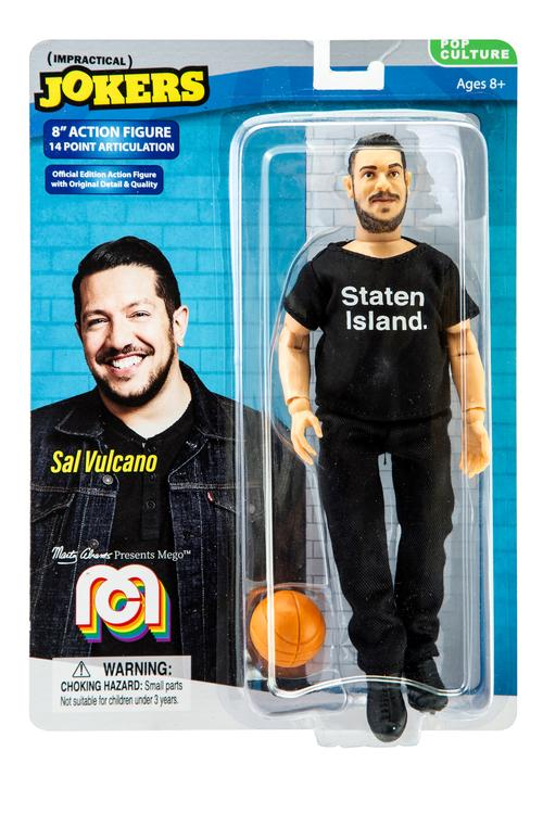 "Impractical Jokers Sal Vulcano 8"" Action Figure"