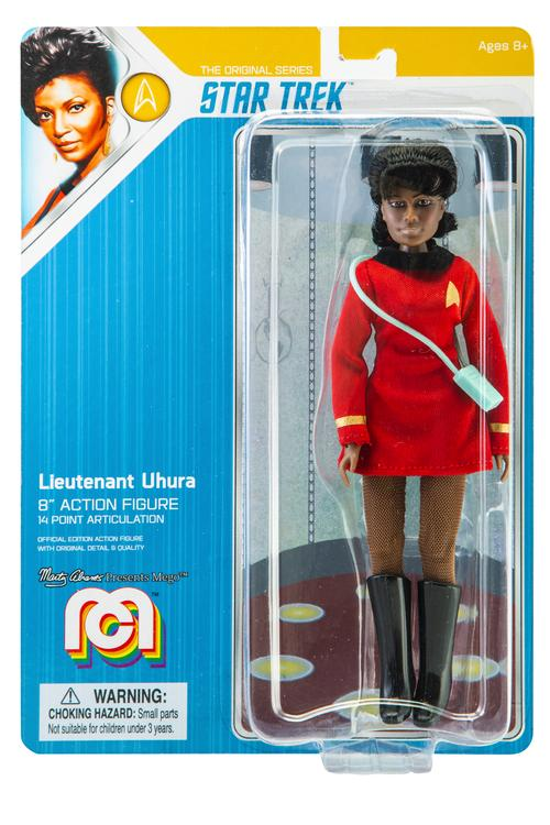 "Mego Star Trek Action Figure 8"" Lieutenant Uhura"