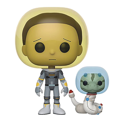 POP Animation Rick & Morty Space Suit Morty With Snake