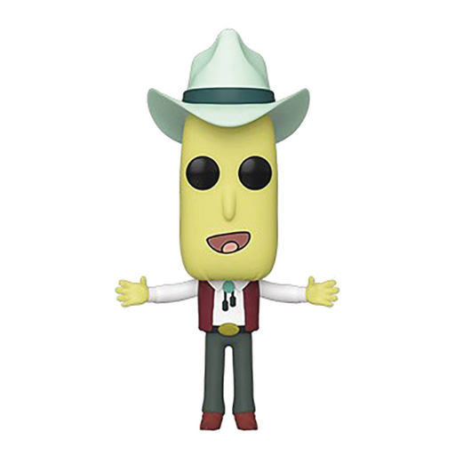 POP Animation Rick & Morty Mr Poopy Butthole Auctioneer