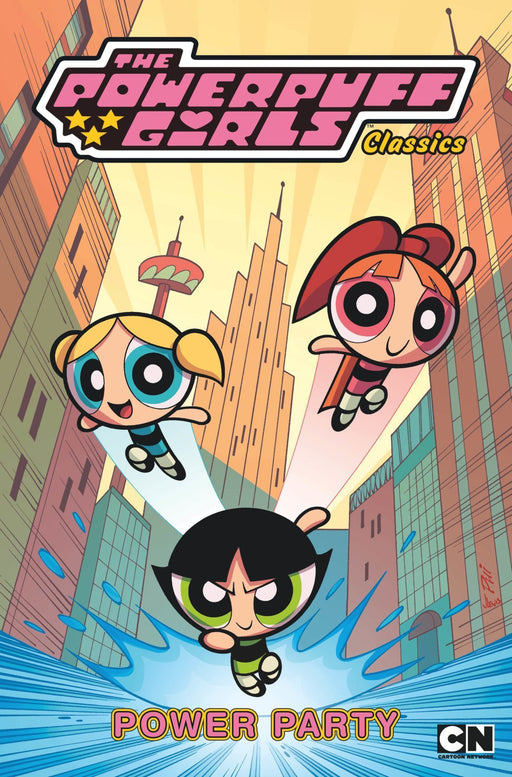 POWERPUFF GIRLS CLASSICS TP VOL 01 POWER PARTY