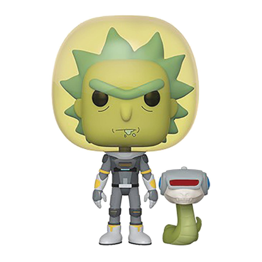 POP Animation Rick & Morty Space Suit With Snake