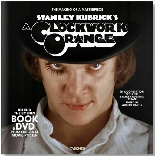 Stanley Kubrick's A Clockwork Orange: Book, DVD & Poster Set