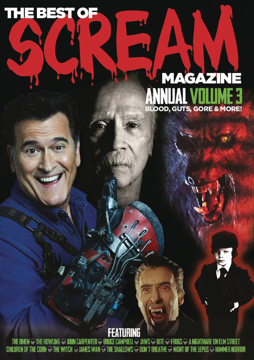 Scream Magazine Best Of Annual Vol 3