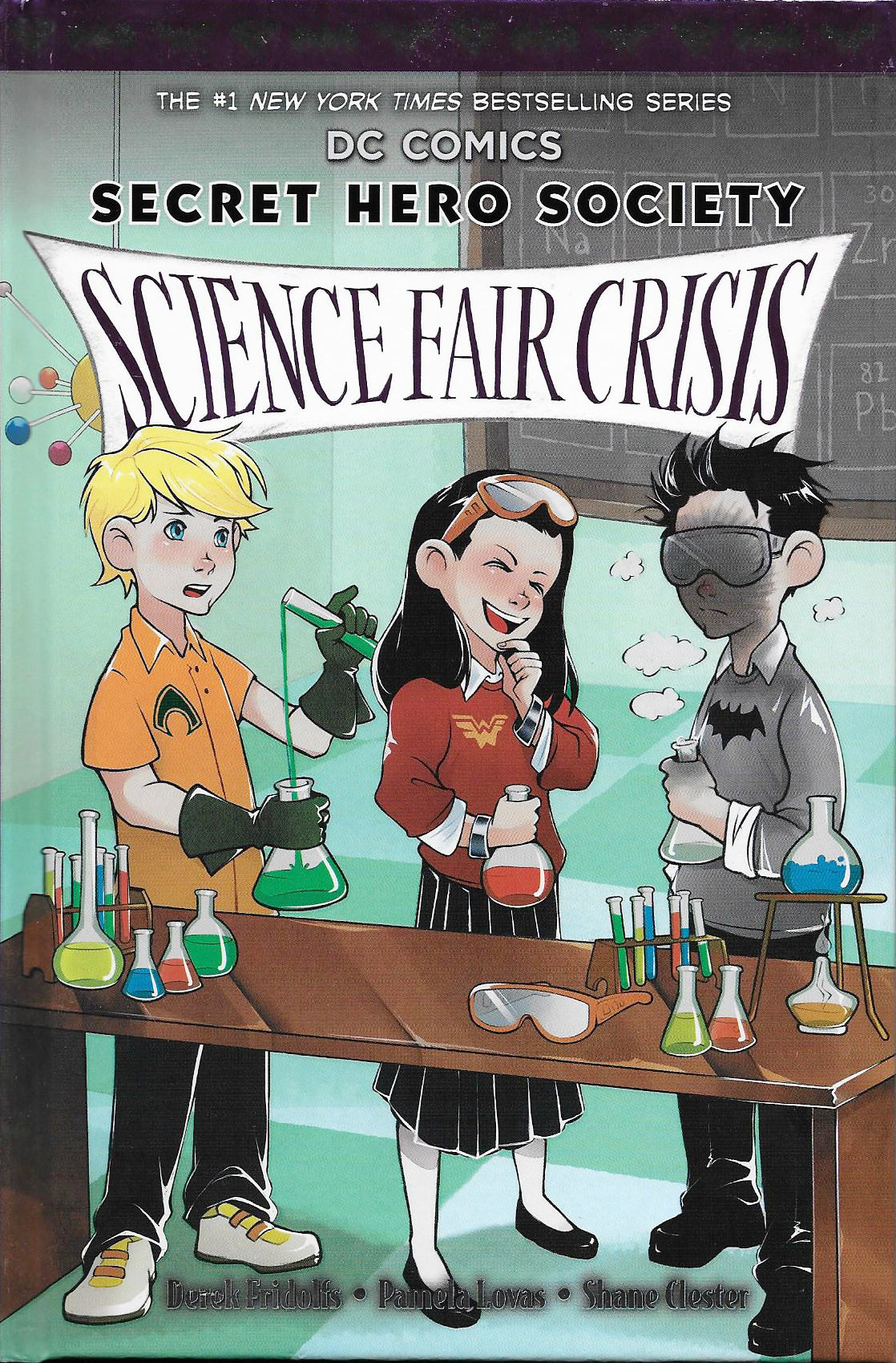 SECRET HERO SOCIETY HC VOL 04 SCIENCE FAIR CRISIS
