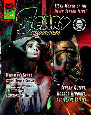SCARY MONSTERS MAGAZINE #113