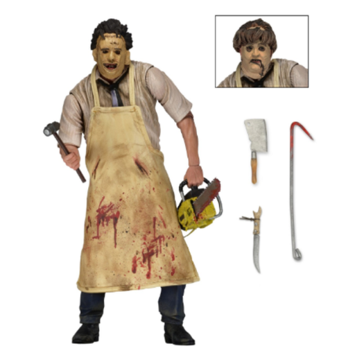 Texas Chainsaw Massacre 7″ Scale Action Figure Ultimate Leatherface