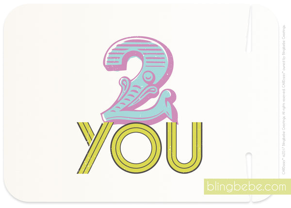 2 you - style 2 - CARDzees™ single