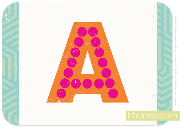Letter A - style 2