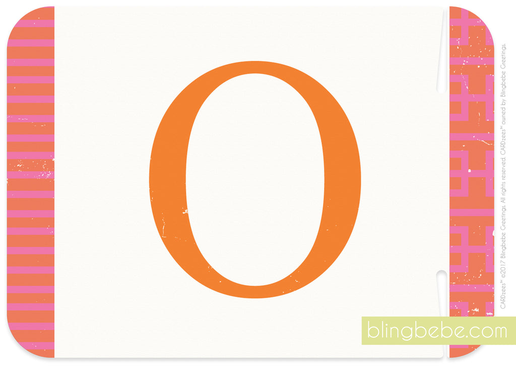 Letter O - style 2