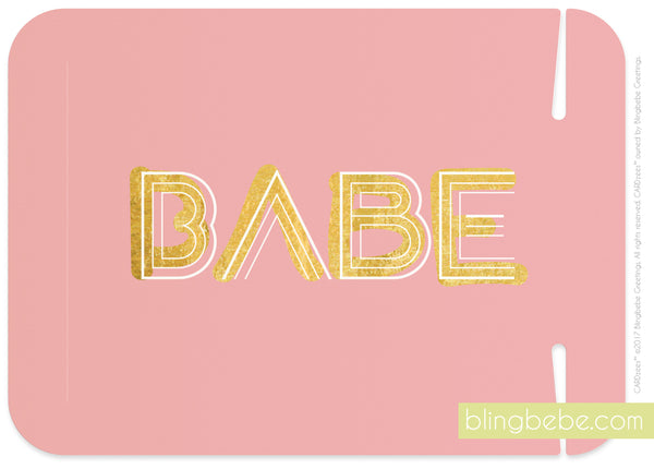 babe - CARDzees™ single