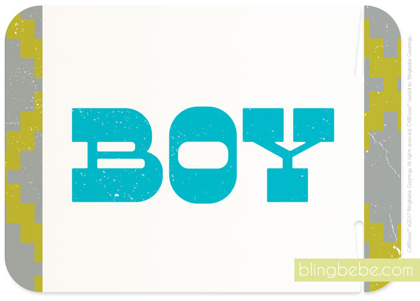 boy - CARDzees™ single