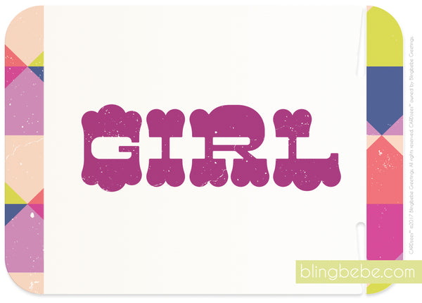 girl - CARDzees™ single