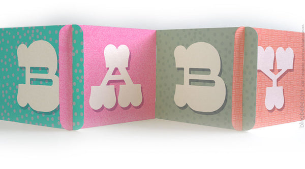 BABY CARDzees™ Greeting Card - blingbebe shop ::: greetings that shine