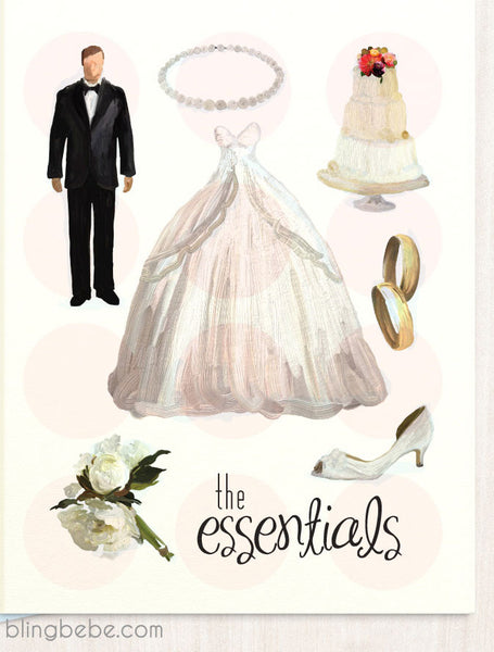 The Essentials - blingbebe shop ::: greetings that shine