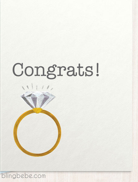 Congrats! - blingbebe shop ::: greetings that shine