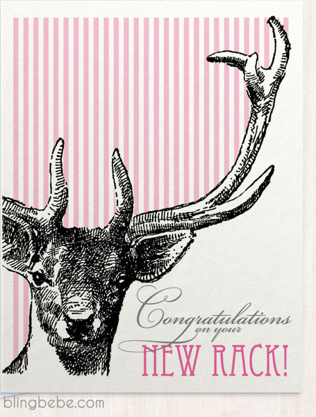 Congratulations on Your New Rack! - blingbebe ::: greetings that shine - 1