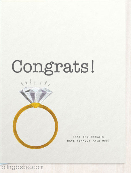 Congrats - Cheeky - blingbebe shop ::: greetings that shine