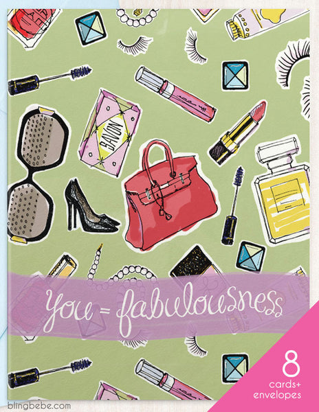 Fabulousness Box Set - blingbebe shop ::: greetings that shine