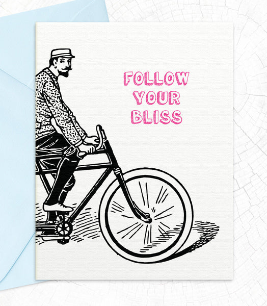 Follow Your Bliss (BL74) - blingbebe shop ::: greetings that shine