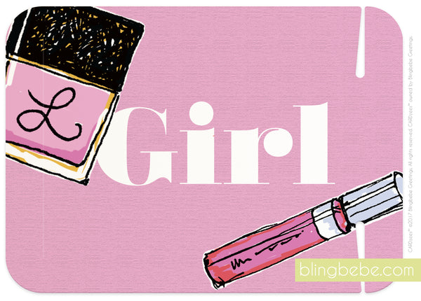 girl -makeup - CARDzees™ single
