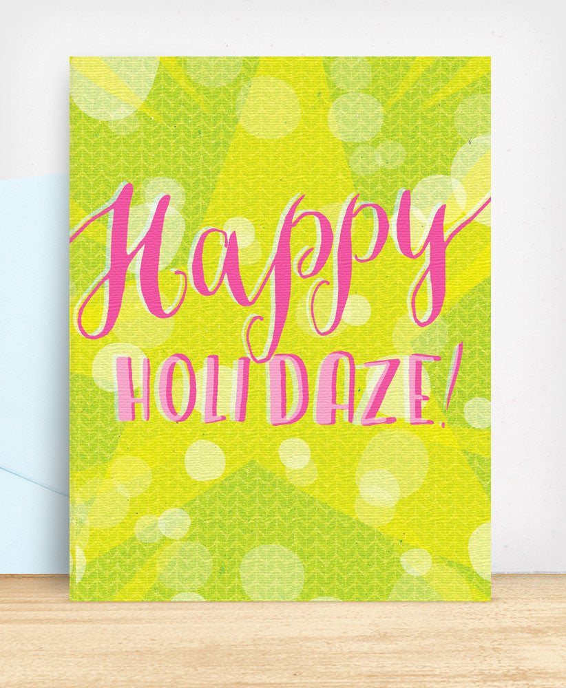 Happy Holidaze (DAZ022) - blingbebe shop ::: greetings that shine
