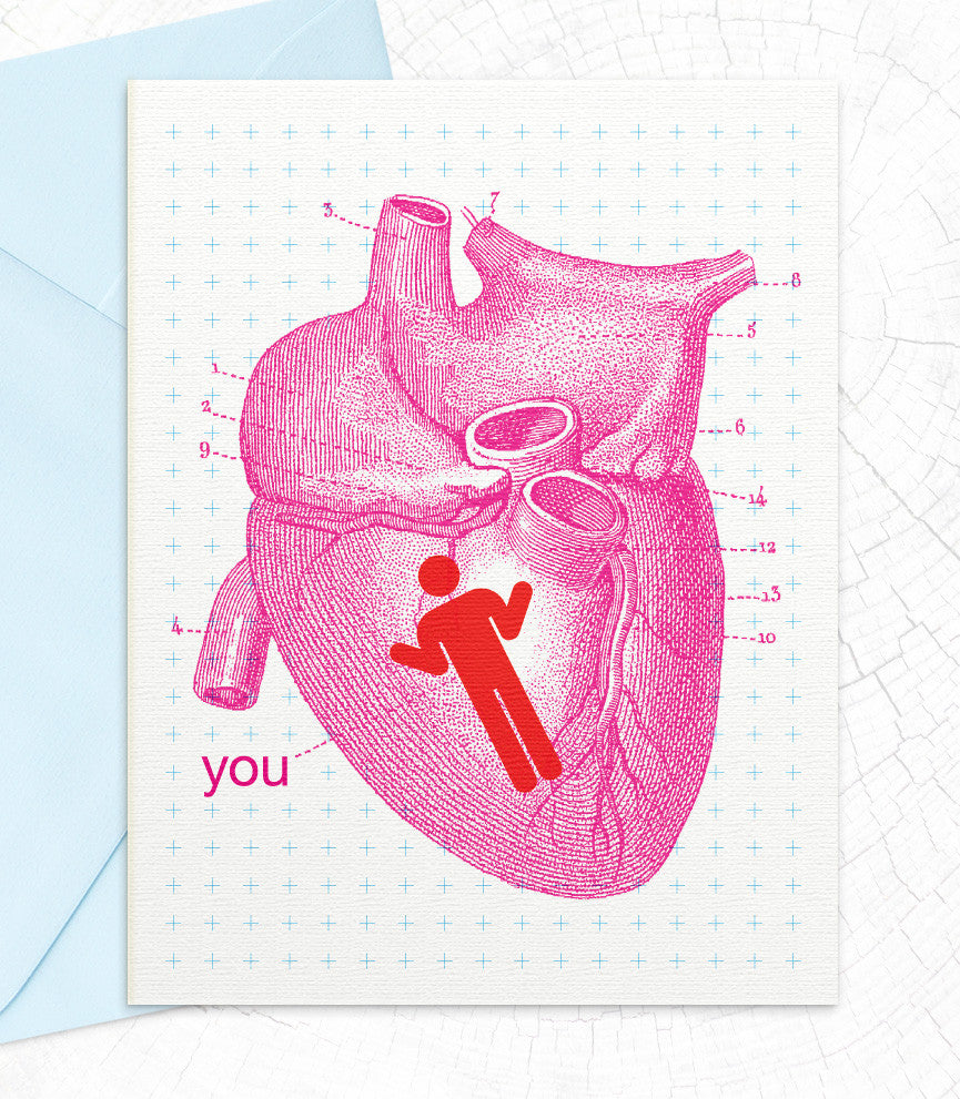 You're In My Heart (IH36) - blingbebe shop ::: greetings that shine