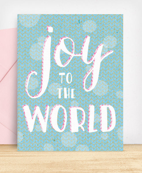 Joy to the World - blingbebe shop ::: greetings that shine