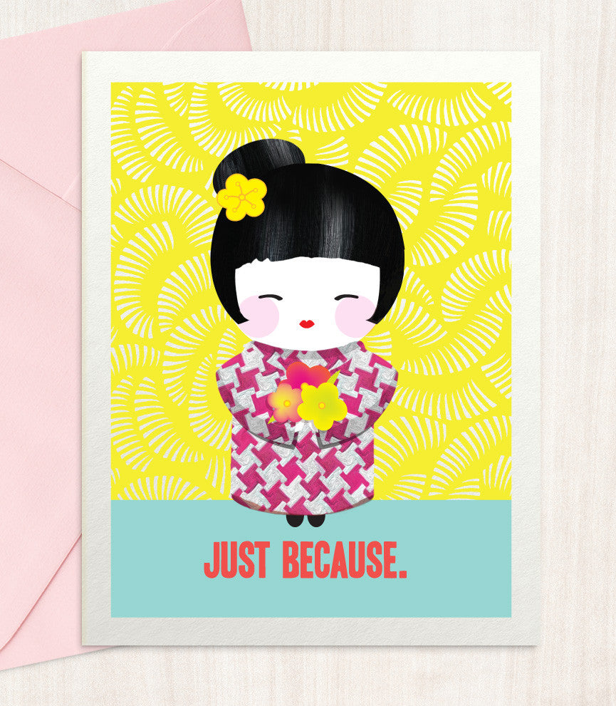 Just Because (JB36) - blingbebe shop ::: greetings that shine