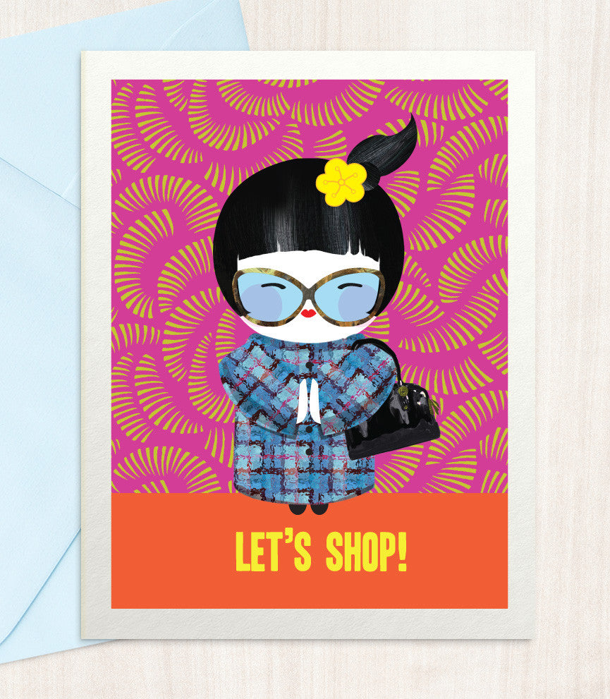 Let's Shop (SH35) - blingbebe shop ::: greetings that shine
