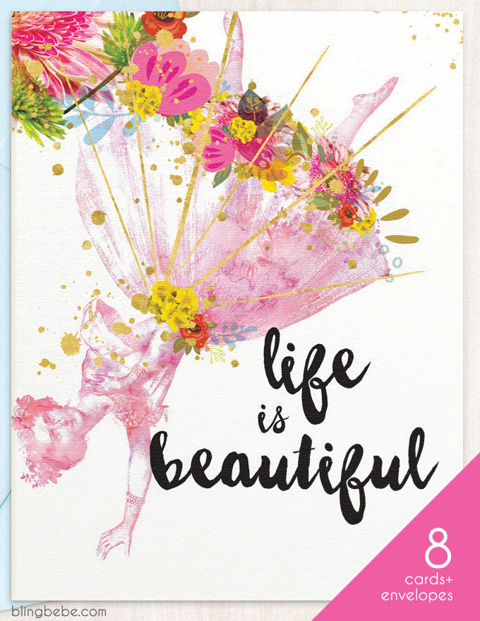 Life Is Beautiful Box Set - blingbebe shop ::: greetings that shine