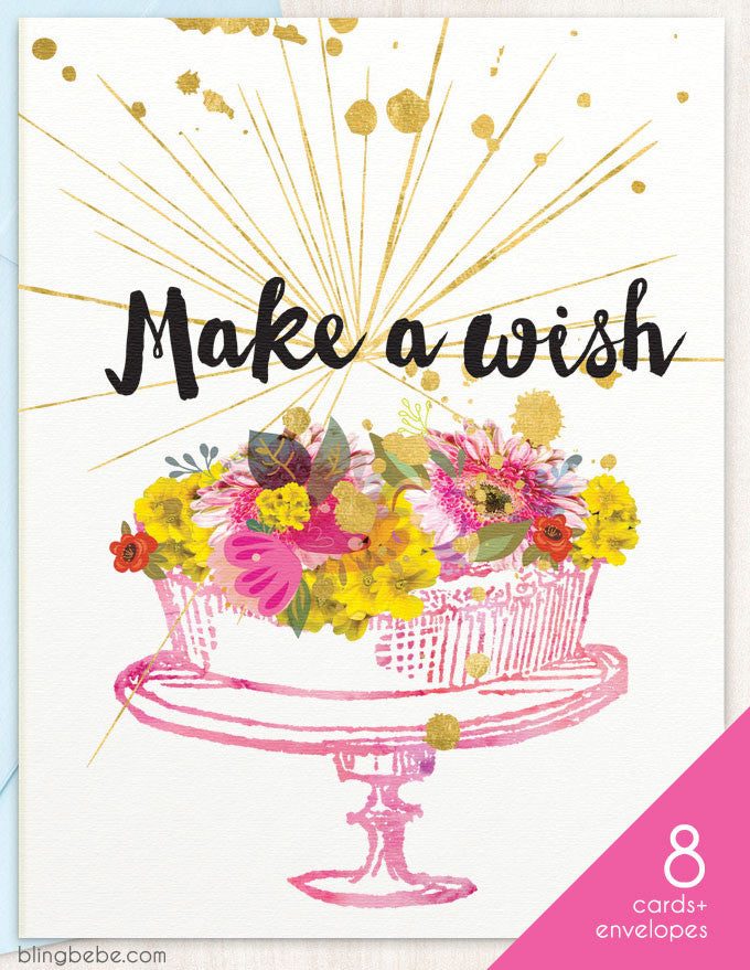 Make A Wish Box Set - blingbebe shop ::: greetings that shine