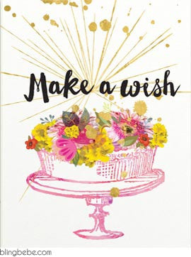 Make A Wish - blingbebe shop ::: greetings that shine