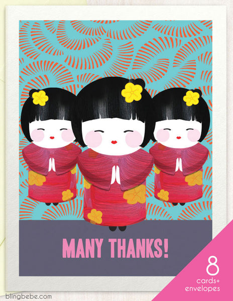 Many Thanks Box Set - blingbebe shop ::: greetings that shine