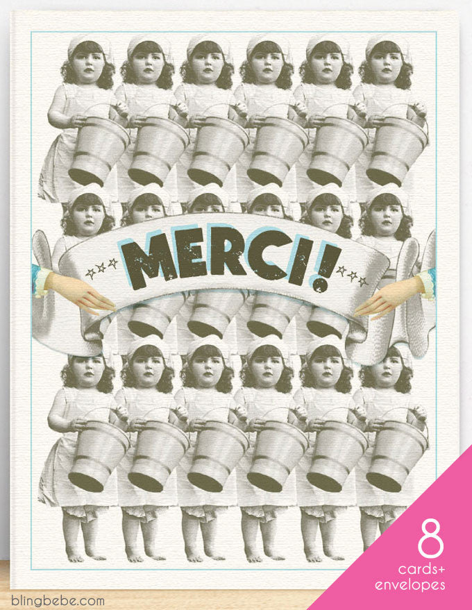 Merci [Buckets] Box Set - blingbebe shop ::: greetings that shine  - 1
