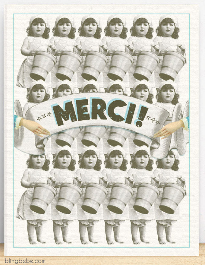 Merci [Buckets] - blingbebe shop ::: greetings that shine